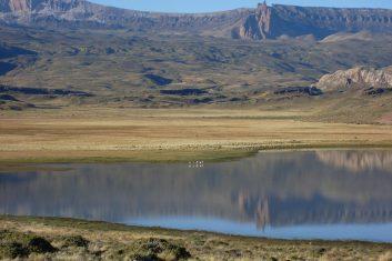 Argentina Patagonia - Ruta 40 - Lago Pueyrredon
