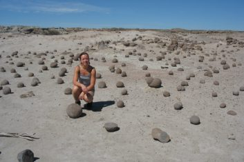 Argentina - Ischigualasto rock formations Moon Valley