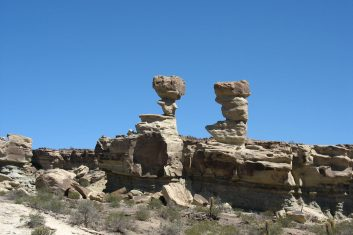 Argentina - Ischigualasto rock formations