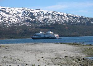 Chile Patagonia - Australis view ship