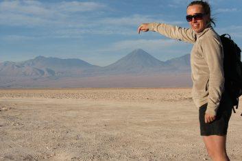 Chile San Pedro Atacama - volcano