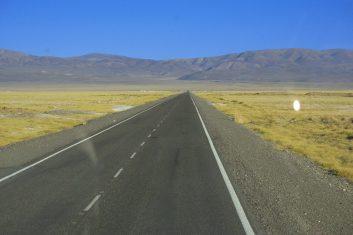 Chile San Pedro Atacama - road