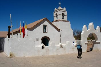 Chile San Pedro Atacama - Church