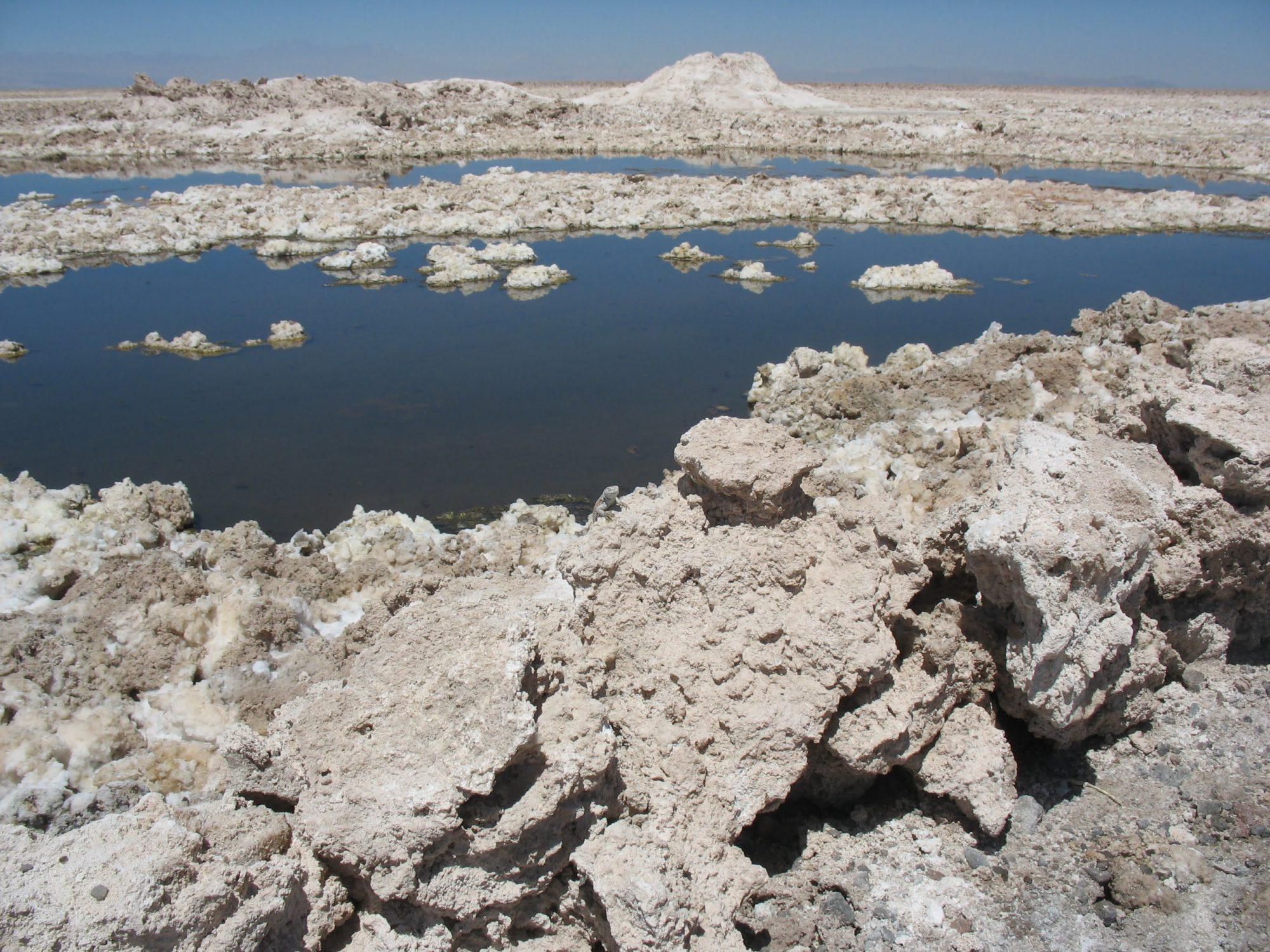 Chile San Pedro Atacama - Salar / Salt Lake