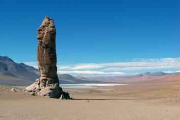 Chile San Pedro Atacama - salta lake