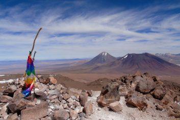Chile San Pedro Atacama - Licancabur volcano