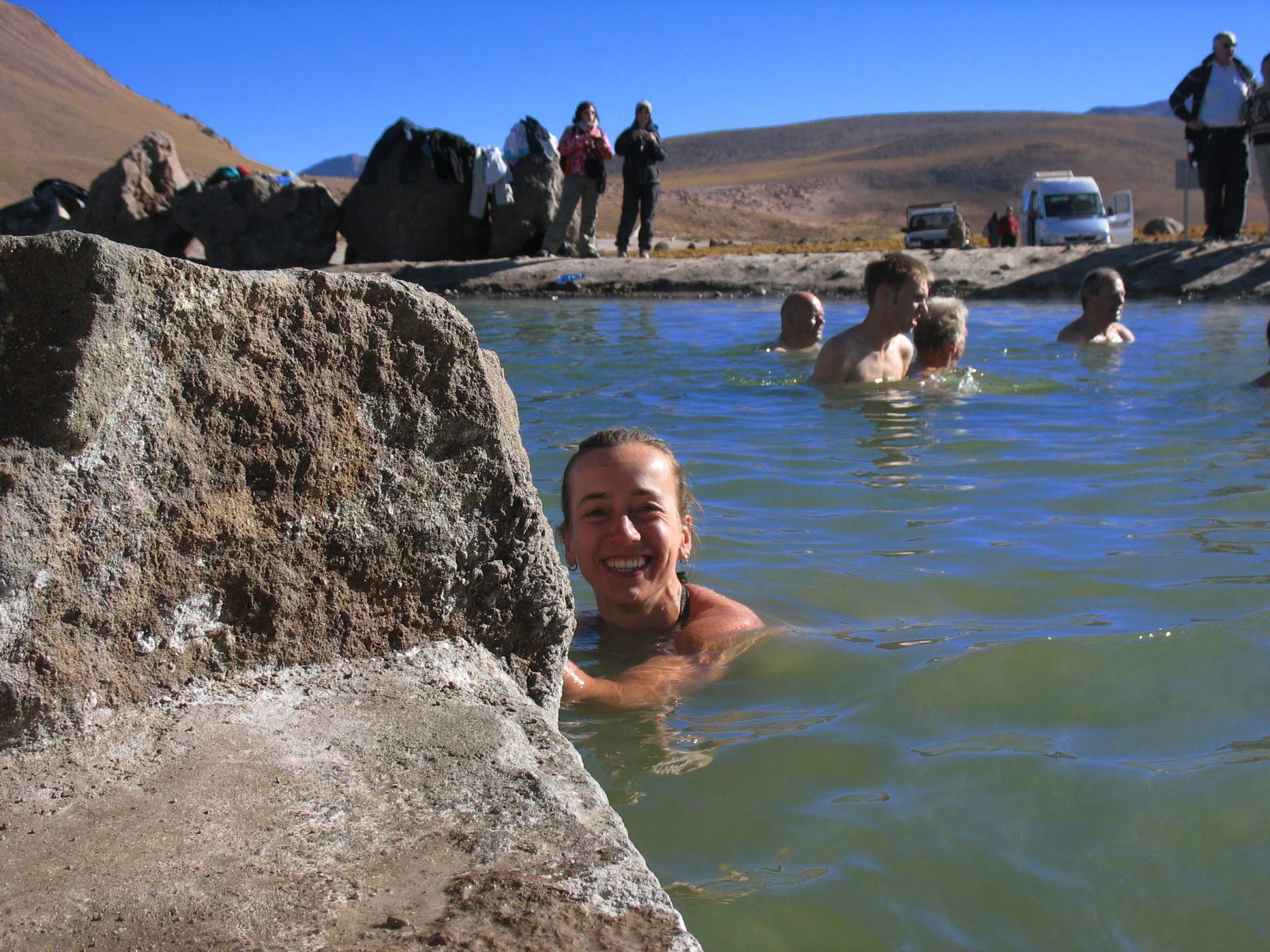 Chile Tatio geyser