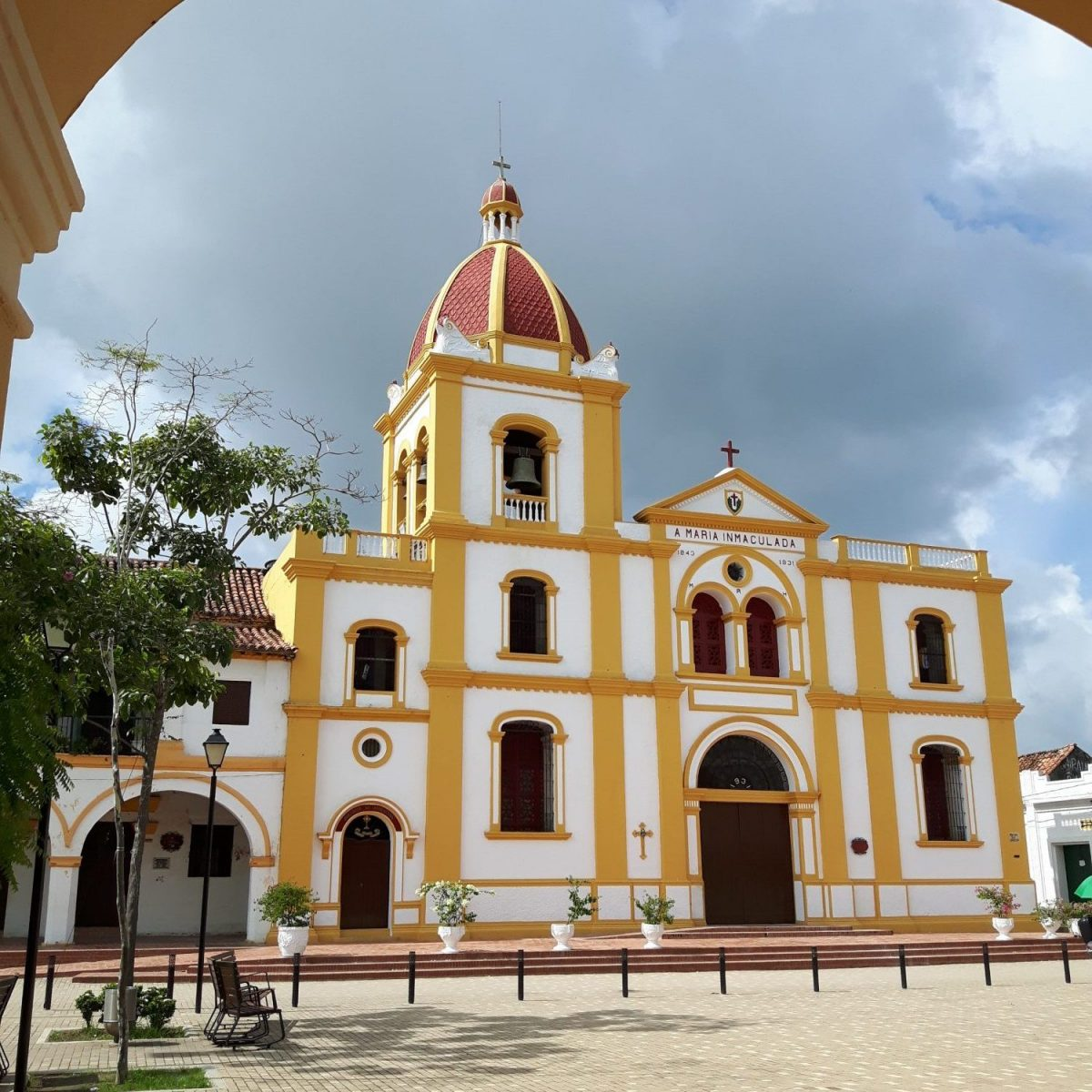 Colombia Mompox church