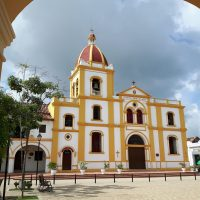 Colombia Mompox church