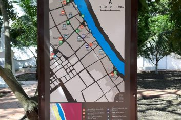 Colombia Mompox - map