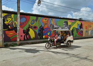 Colombia Mompox - graffiti