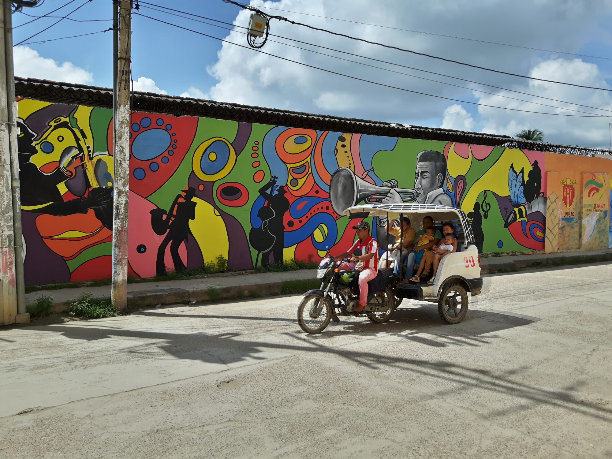Colombia Mompox - graffiti