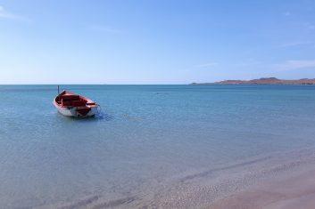 Colombia La Guajira - Cabo la Vela bootje