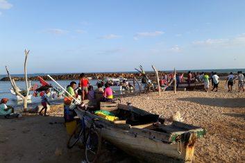 Colombia La Guajira - boats/lanchas to Pta Gallinas