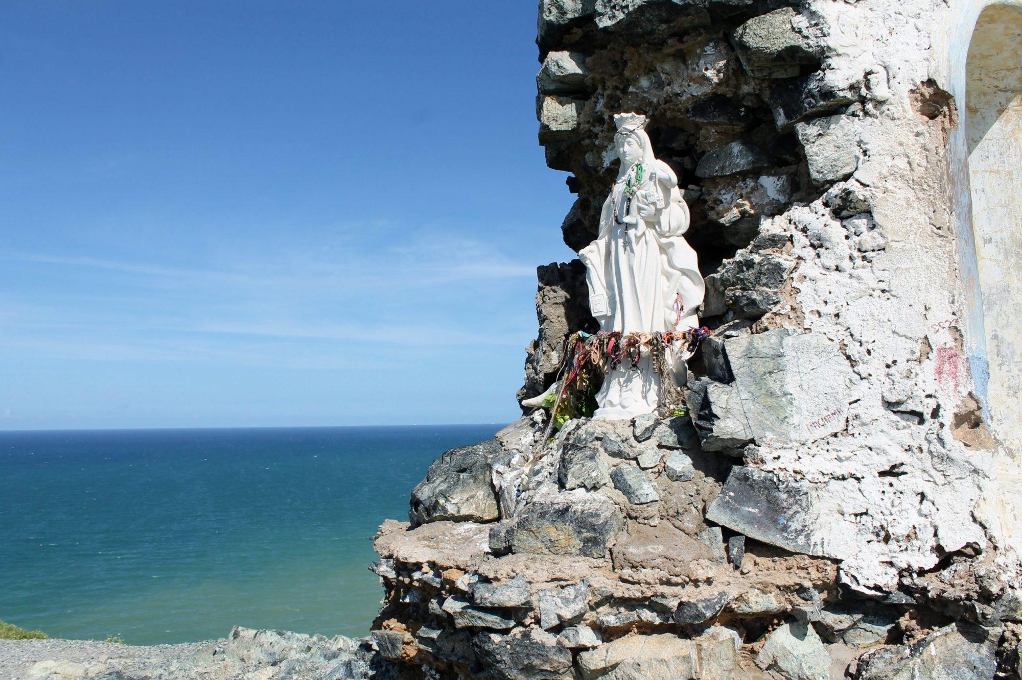 Colombia La Guajira - chapel Maria