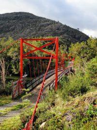 Chili - Carretera Austral - rode brug