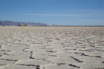Argentinië Salinas grandes - zoutwinning