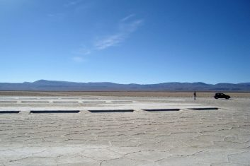 Argentinië Salinas grandes