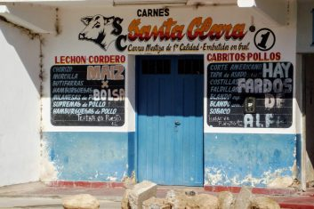 Argentinië Cachi - slager