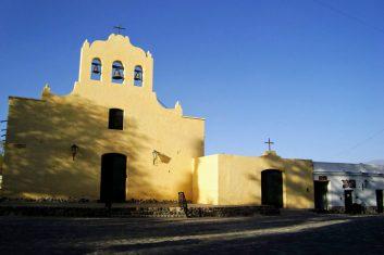 Argentinië Cachi - kerk