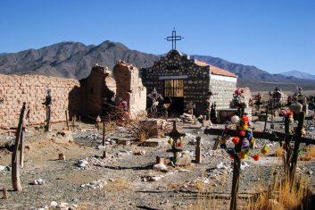 Argentinië Cachi - begraafplaats