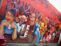 Chili - Santiago de Chile - mural