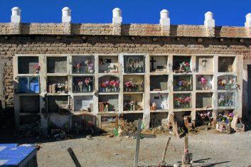 Argentinië Cachi begraafplaats