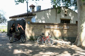 Argentinië Mendoza - fietstocht wijngaarden