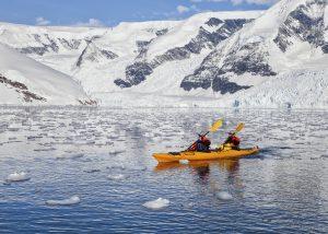 Antarctica - kayak