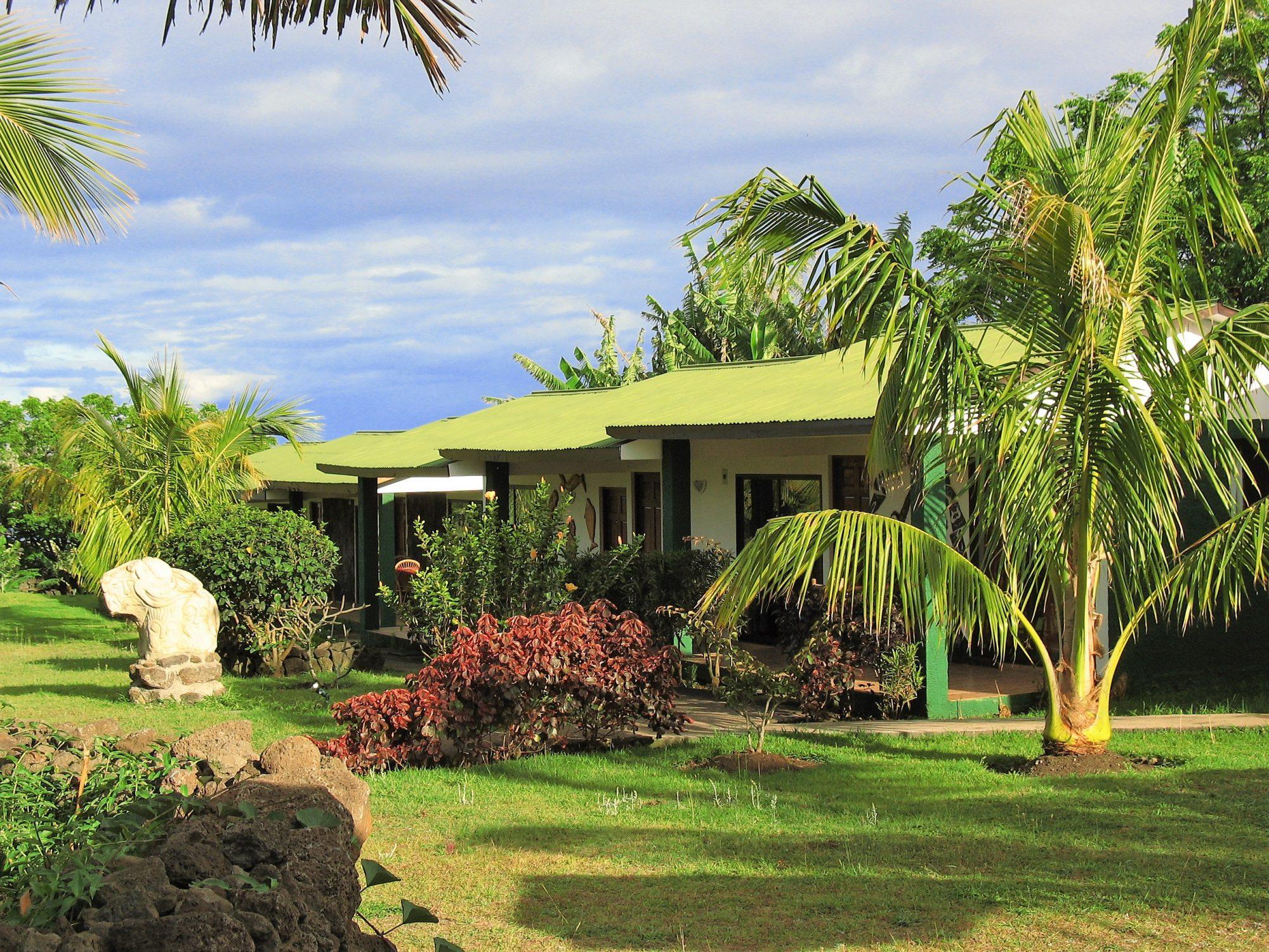 Chile - Paaseiland - Hanga Roa hotel