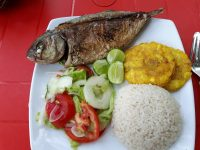 Colombia_Rosario Island - lunch