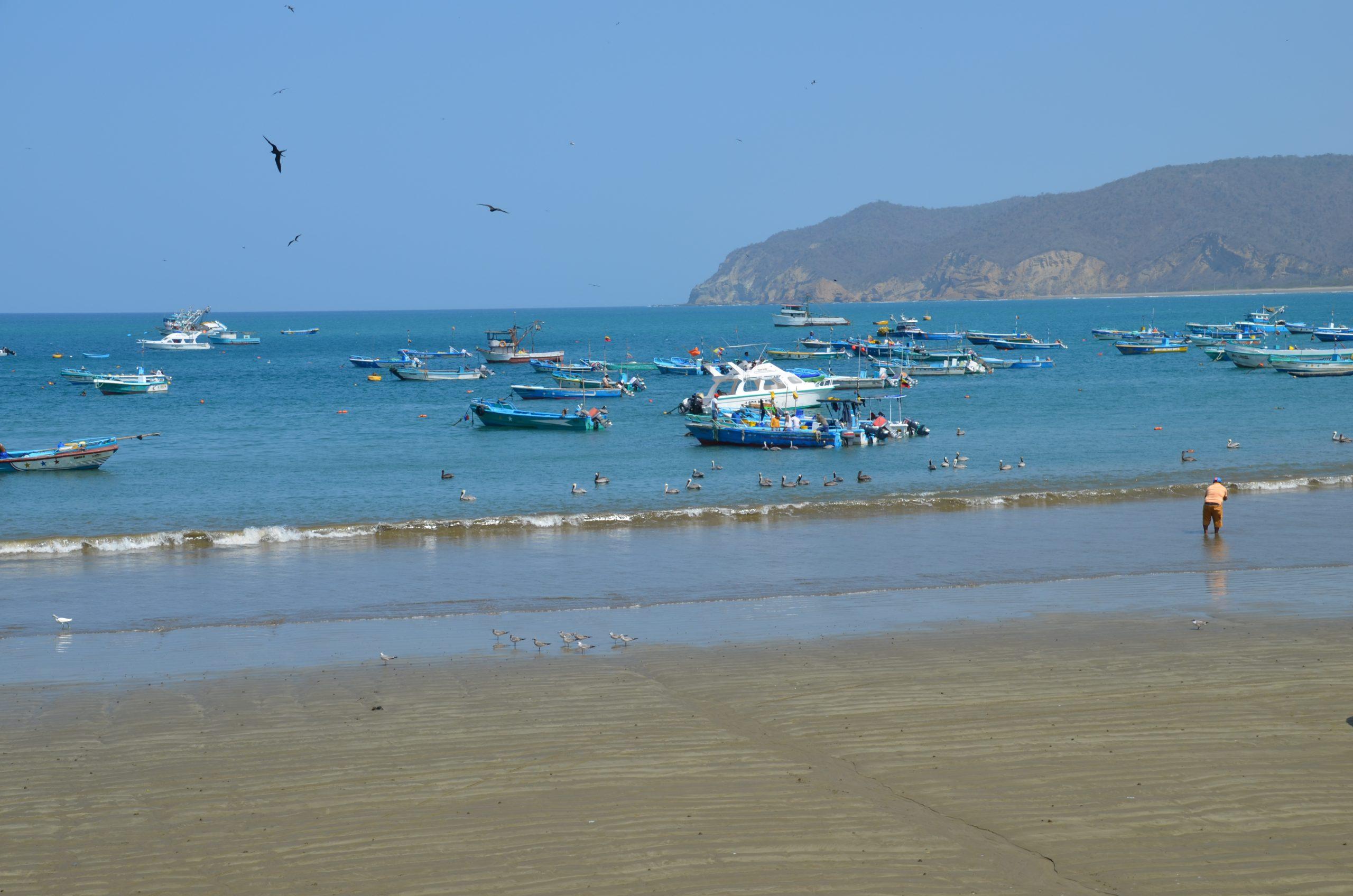 Ecuador Puerto Lopez Pacific