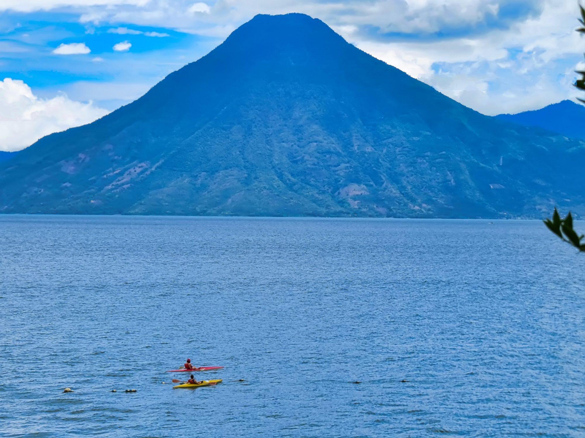 Guatemala - Atitlan kayak