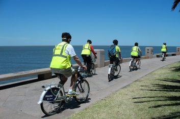 Uruguay - Montevideo - Rambla fietstocht