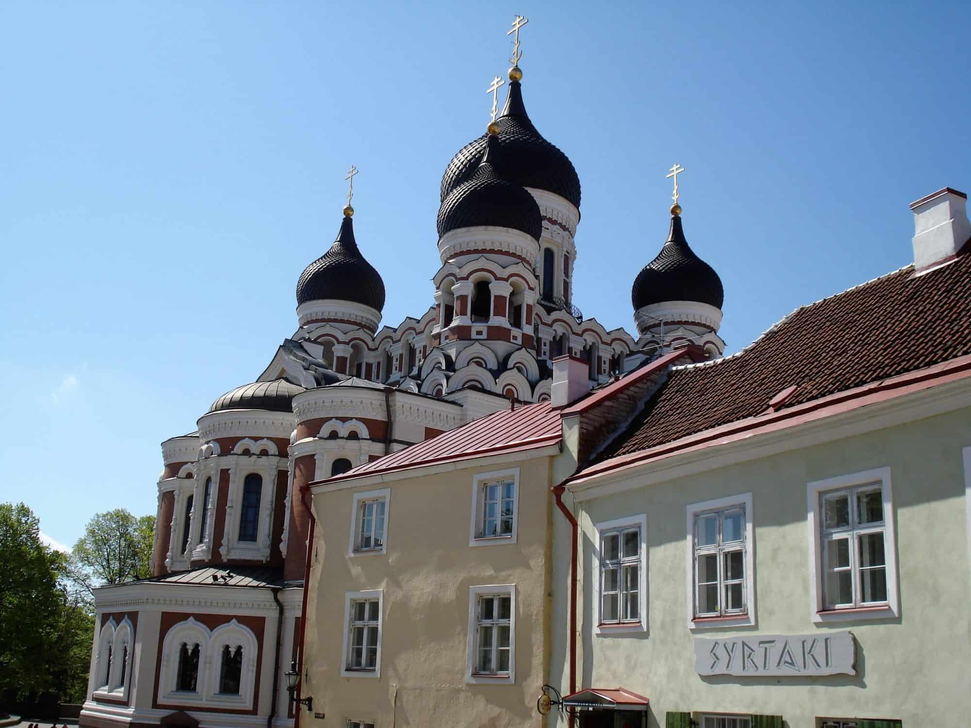 Estland_Tallinn Alexander Nevski kathedraal