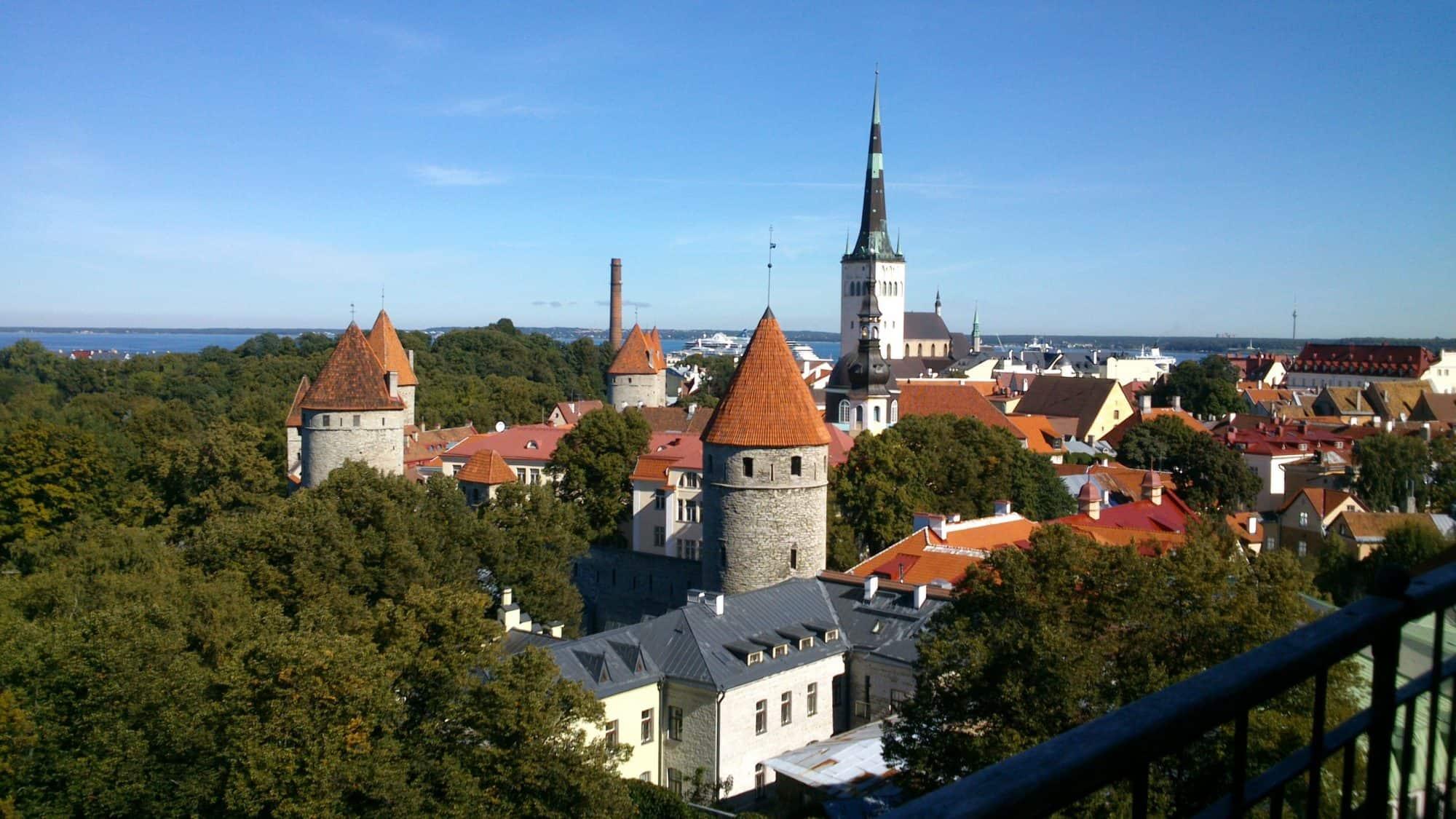 Estland_Tallinn view