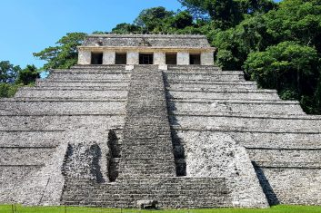 Mexico - Palenque - Maya archeologie